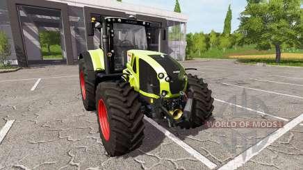 CLAAS Axion 930 для Farming Simulator 2017