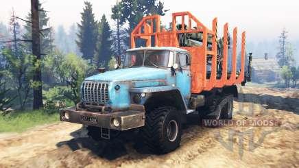 Урал 4320-10 v2.0 для Spin Tires