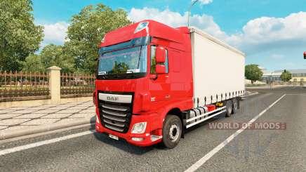 DAF XF Space Cab tandem для Euro Truck Simulator 2