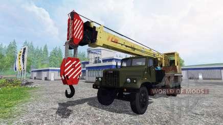 КрАЗ 257 автокран для Farming Simulator 2015
