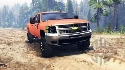Chevrolet Silverado 2500 для Spin Tires