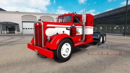 Скин Gavins Logging на тягач Kenworth 521 для American Truck Simulator