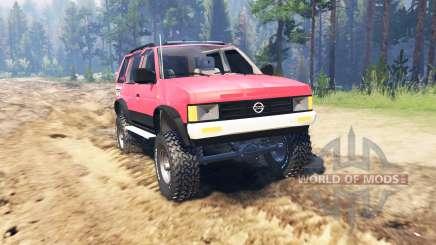 Nissan Pathfinder (WD21) 1994 для Spin Tires