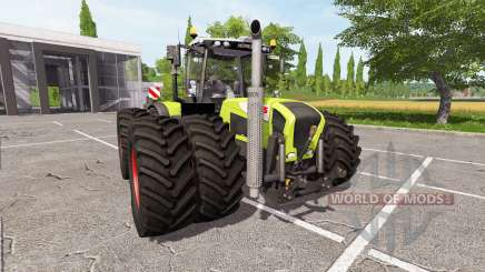 CLAAS Xerion 3800 v1.0.2.2 для Farming Simulator 2017