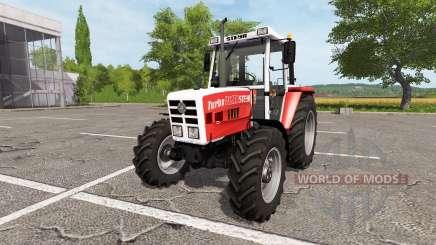 Steyr 8090 Turbo SK2 v2.0 для Farming Simulator 2017