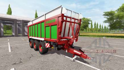 JOSKIN DRAKKAR 8600 red-green edition для Farming Simulator 2017