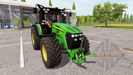 John Deere 7830 v2.1 для Farming Simulator 2017
