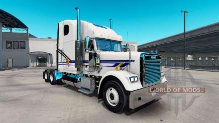 Скин Pork Chop Express на Freightliner Classic для American Truck Simulator