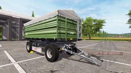 Fliegl DK 180-88 dark для Farming Simulator 2017