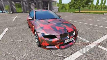 BMW M3 (E92) для Farming Simulator 2017