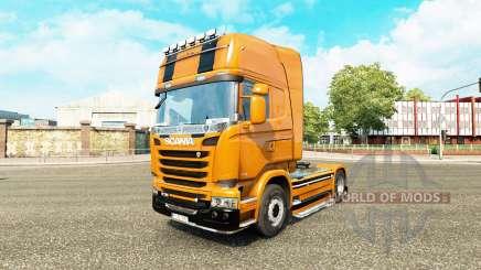 Скин Camaro на тягач Scania для Euro Truck Simulator 2