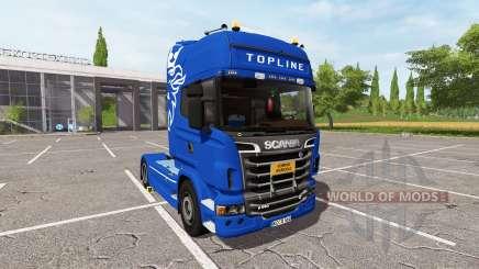 Scania R560 Schwarzmuller для Farming Simulator 2017
