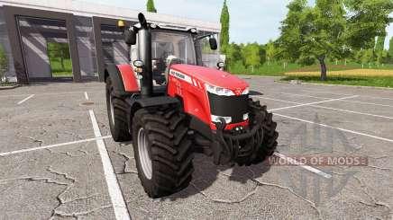 Massey Ferguson 8737 v2.5 для Farming Simulator 2017