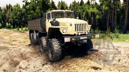 Урал-6614 v2.0 для Spin Tires