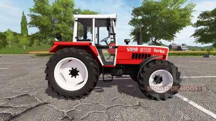Steyr 8110A Turbo SK2 electronic для Farming Simulator 2017
