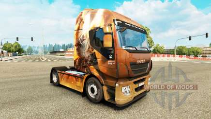 Скин Fantasy Knights на тягач Iveco для Euro Truck Simulator 2