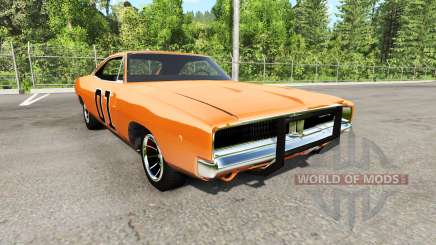 Dodge Charger RT 1970 General Lee для BeamNG Drive