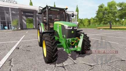 John Deere 5085M v1.3 для Farming Simulator 2017