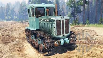 Т-74 для Spin Tires
