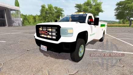 GMC Sierra 3500HD service v2.0 для Farming Simulator 2017