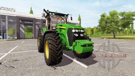 John Deere 7730 v2.0 для Farming Simulator 2017