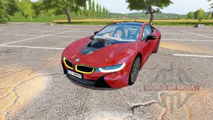 BMW i8 (I12) v1.1 для Farming Simulator 2017