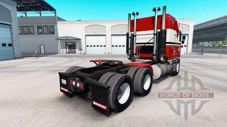 Скин Billie Joe на тягач Kenworth K100 для American Truck Simulator
