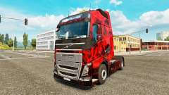 Скин Demon Skull на тягач Volvo