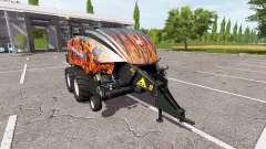 New Holland BigBaler 1290 flame