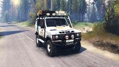 УАЗ 3170 Terra v2.0 для Spin Tires
