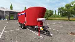 Peecon Biga Mega Mammoet для Farming Simulator 2017