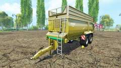 Krampe Bandit 750 для Farming Simulator 2015