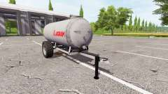 Прицеп-цистерна Agram для Farming Simulator 2017
