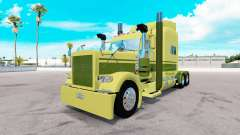 Скин Large car Cartage на тягач Peterbilt 389