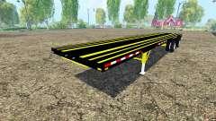 Caterpillar Trailer для Farming Simulator 2015