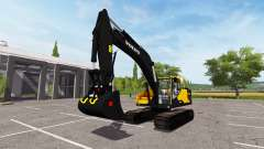 Volvo EC300E v3.5 для Farming Simulator 2017
