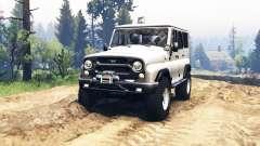 УАЗ 315195 Хантер v2.0 для Spin Tires
