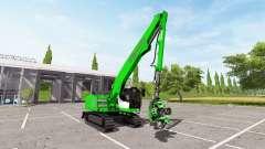 Sennebogen 718 crawler для Farming Simulator 2017