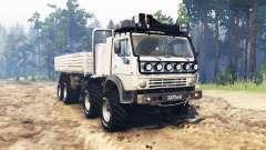 КамАЗ 6350 для Spin Tires
