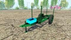 Деревенский лесовозный прицеп для Farming Simulator 2015