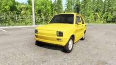 Fiat 126p v2.0 для BeamNG Drive