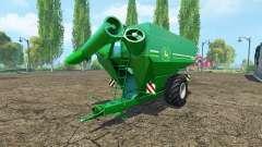 HORSCH Titan 34 UW John Deere для Farming Simulator 2015