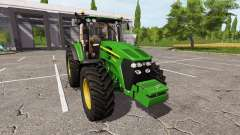 John Deere 7930 v2.1 для Farming Simulator 2017