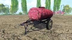 Прицеп-цистерна для топлива