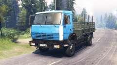 КамАЗ 43253 для Spin Tires