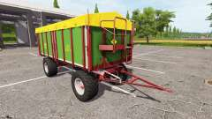 Strautmann SZK 1802-H для Farming Simulator 2017