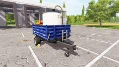 BRANTNER E 8041 seeds and fertilizer