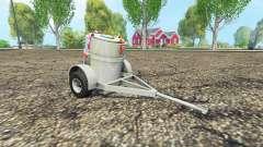 Прицеп с баком для молока для Farming Simulator 2015