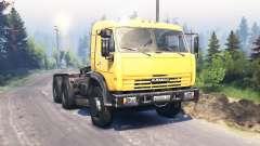 КамАЗ 54115 v3.0 для Spin Tires