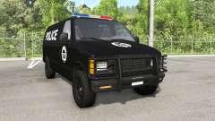 Gavril H-Series Police Nationale v1.5 для BeamNG Drive